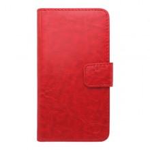 Knižkové puzdro Samsung Galaxy A7, červené, bočné