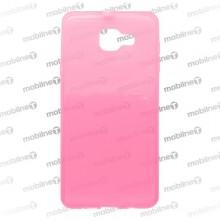 Gumené puzdro Samsung Galaxy A7 2016, ružové, anti-moisture