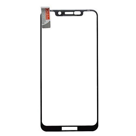 Ochranné Q sklo Moto One čierne, fullcover, 0.33 mm