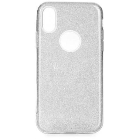 Trblietkavé silikónové púzdro na Apple iPhone XS (5 99db77d598e