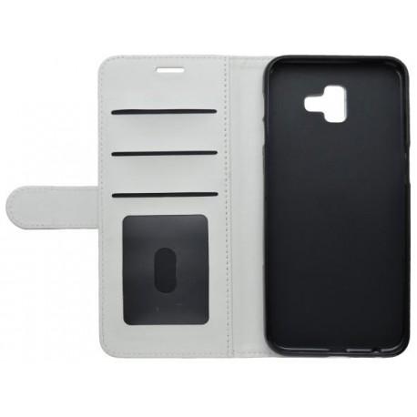 Knižkové puzdro EPICO FLIP CASE Samsung Galaxy J6 Plus biele