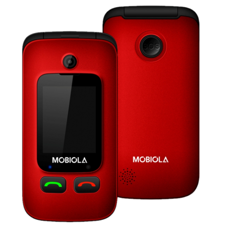 Mobiola MB610 - Senior Phone Červený