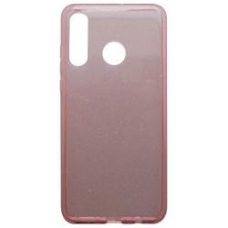 Silikónové puzdro Crystal Huawei P30 Lite ružové