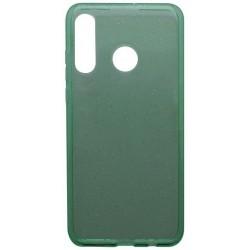 Silikónové puzdro Crystal Huawei P30 Lite zelené