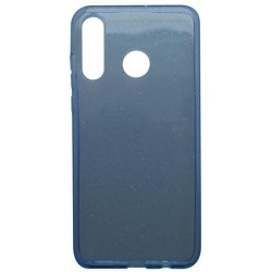 Silikónové puzdro Crystal Huawei P30 Lite modré