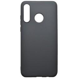 Gumené puzdro Huawei P30 Lite čierne matné