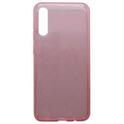 Silikónové puzdro Crystal Samsung Galaxy A50 ružové