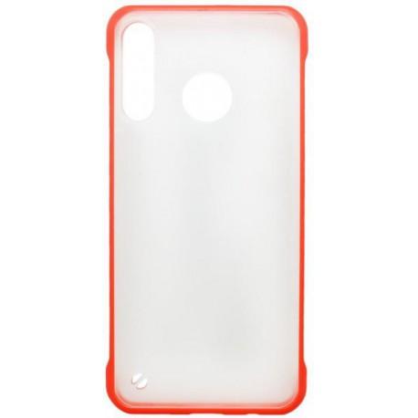 Plastové puzdro Frameless Huawei P30 Lite červené