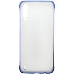 Plastové puzdro Frameless Samsung Galaxy A50 tmavomodré