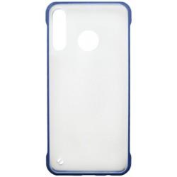 Plastové puzdro Frameless Huawei P30 Lite tmavomodré