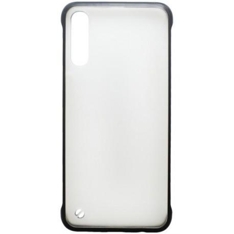 Plastové puzdro Frameless Samsung Galaxy A50 čierne