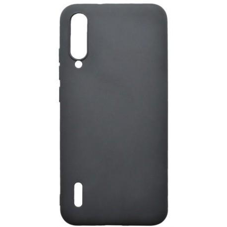 Matné gumené puzdro Xiaomi Mi A3 čierne