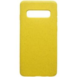 Puzdro Eco Samsung Galaxy S10 žlté