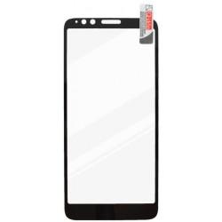 Ochranné sklo Moto E6 čierne, fullcover, 0.33 mm, Qsklo