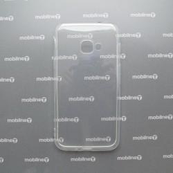 Silikónové puzdro Samsung Galaxy Xcover 4s priehľadné, nelepivé