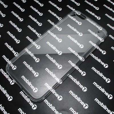 Gumené puzdro iPhone 6, transparentné_b