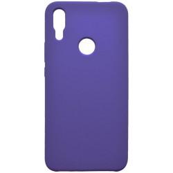 Puzdro Silicon Huawei P Smart Z fialové