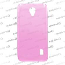 Gumené puzdro Huawei Y635, ružové, anti-moisture