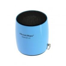Bluetooth nano reproduktor MusicMan BT-X7, modrý