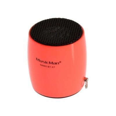 Bluetooth nano reproduktor MusicMan BT-X7, ružový