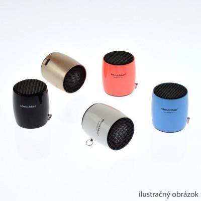 Bluetooth nano reproduktor MusicMan BT-X7, zlatý
