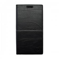 Knižkové puzdro Luxury Huawei P9 Lite, čierna
