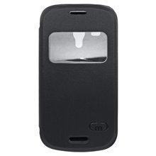 Knižkové puzdro Samsung i8190 Galaxy S3 Mini, čierne