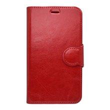 Bočné knižkové puzdro Samsung Galaxy J3 2016, červené