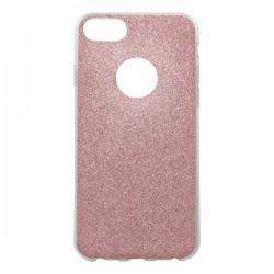 Farebné trblietkavé puzdro / obal iPhone 7, ružové