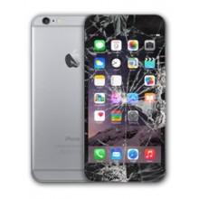 6 iPHONE oprava/výmena LCDsetu (sklíčko + LCD) čierny, Apple