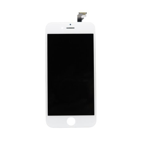 6 iPHONE LCD set (sklíčko + LCD originál) biely - REPAS