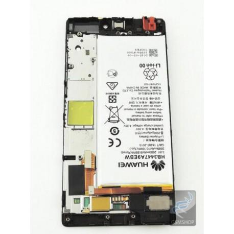 P8 HUAWEI lcd panel čierny s batériou - oprava/výmena