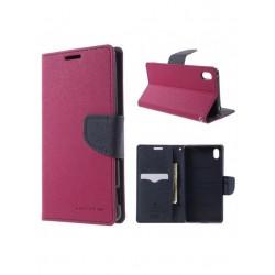 M5 (E5603) SONY knižkové puzdro ružové GOOSPERY
