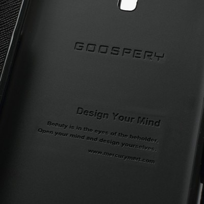 ZENFONE 5 (T00J, A500) knižkové puzdro čierne GOOSPERY