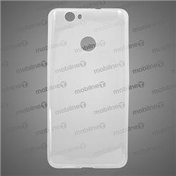 Gumené puzdro Huawei Nova Smart, priehľadné, nelepivé