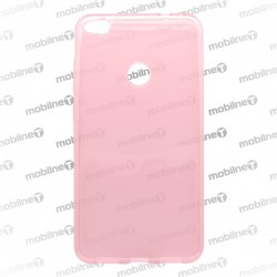 Gumené puzdro Huawei P9 Lite 2017, ružové, nelepivé
