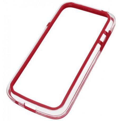 i9190 S4 MINI GALAXY SAMSUNG ochranný rámik červený