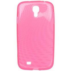 i9500 Samsung Galaxy S4 gumené púzdro ružové