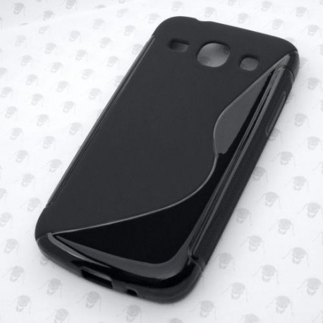 Gumené puzdro Samsung G3500 Galaxy Core Plus, čierne