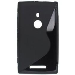 925 Lumia Nokia Púzdro gumené čierne