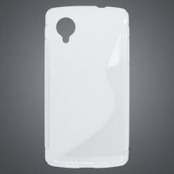 Gumené puzdro LG Nexus 5, transparentné