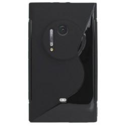 Gumené puzdro Nokia Lumia 1020, čierne