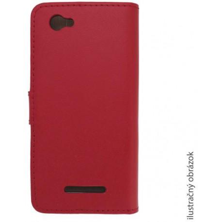 Knižkové puzdro bočné Samsung i9600 Galaxy S5, červené