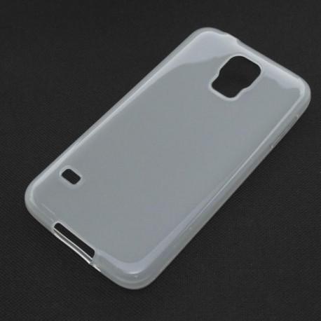 Gumené puzdro Samsung Galaxy S5 (i9600), transparentné