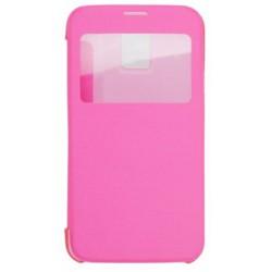 Knižkové puzdro bočné Samsung Galaxy S5, ružové