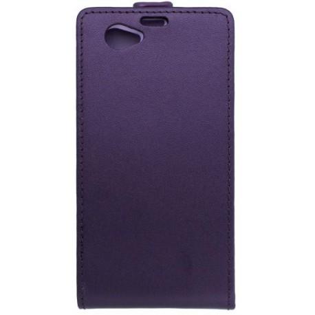 Knižkové puzdro Sony Xperia Z1 Compact, fialové
