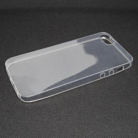 Gumené puzdro iPhone 5, transparentné