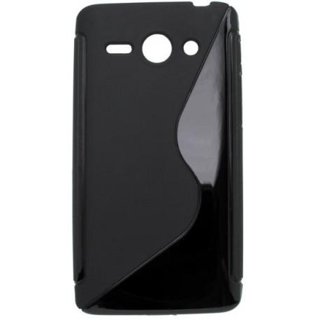 Gumené puzdro Huawei Ascend Y530, čierne