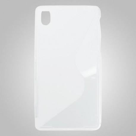 Gumené puzdro Sony Xperia Z2, transparentné