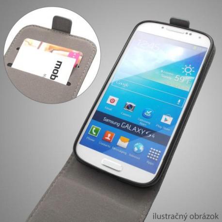 Knižkové puzdro Scratch Samsung Galaxy S5, čierna